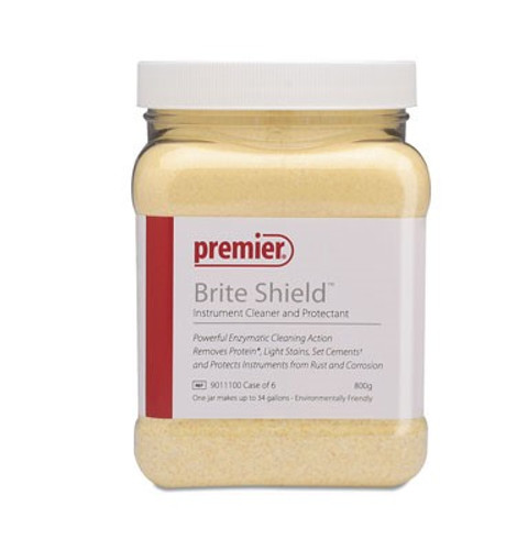 Brite Shield Enzymatic Cleaner Powder 800gm Jar