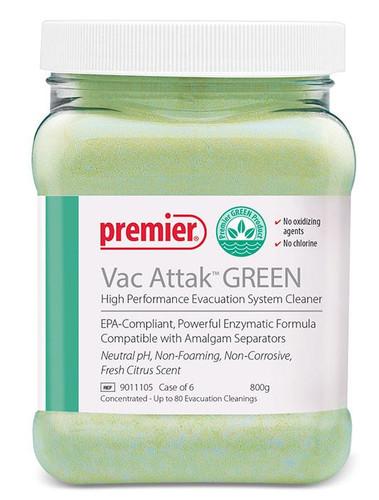 Vac Attack Green Evac System Cleaner Powder 800g J