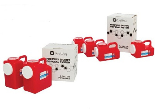 Pureway Sharps Systems Multi-Packs