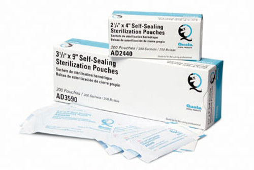 Quala Self-Sealing Sterilization Pouches
