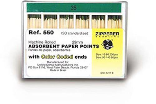 Roydent Paper Points -Standardized