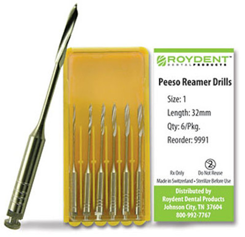 Roydent Peeso Reamer Drills