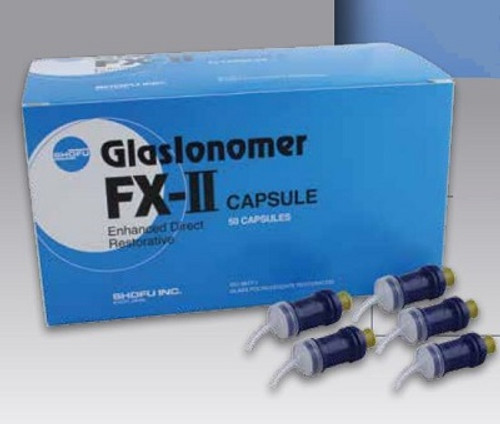 FX-II GlasIonomer Cement Capsules