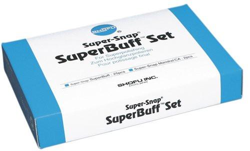 SuperBuff Set (25 disks & 2 CA Mandrels)