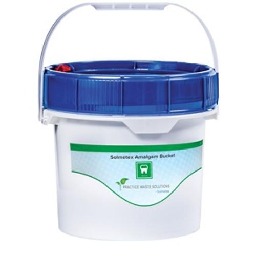 Solmetex Gallon Amalgam Buckets