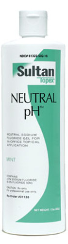 Sultan Topex Neutral pH Fluoride