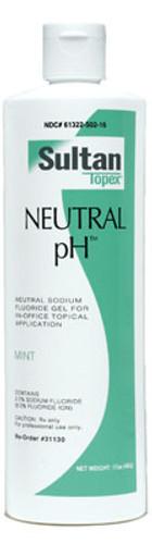 Sultan Topex Neutral pH Fluoride
