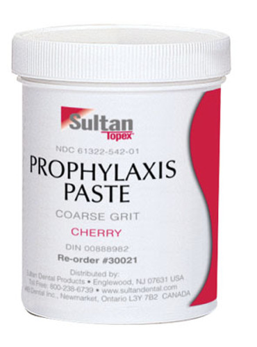 Sultan Topex Prophy Paste Non-Fluoride