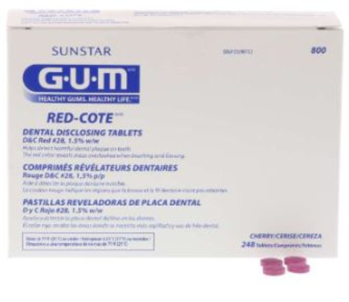 Red-Cote Disclosing Tablets