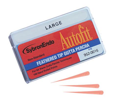 SybronEndo Autofit Feathered Tip Gutta Percha (Non