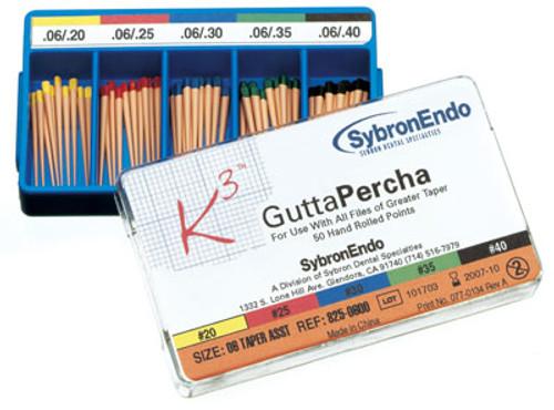 SybronEndo K3 Gutta Percha Points