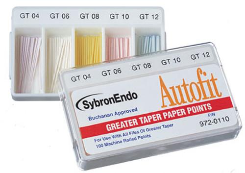 SybronEndo Paper Points- Autofit