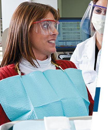 Tidi Tissue/Poly Patient Bibs -3 Ply