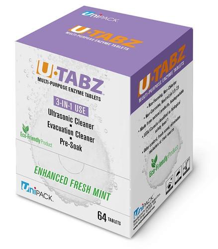 Unipack U-Tabz Enzyme Ultrasonic Tablets