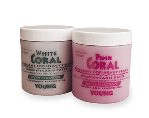 Young Coral Prophy Paste- w/ Fluoride