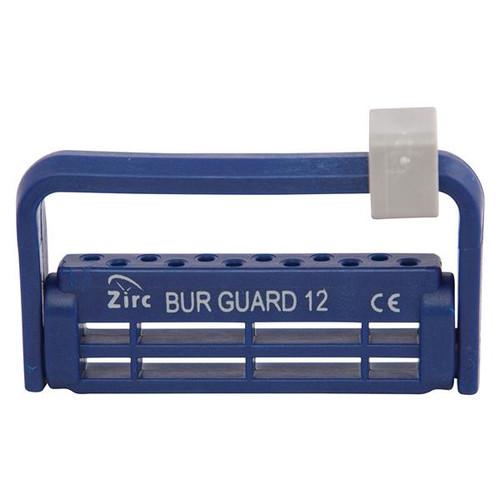 ZRC-50Z406T, 12 Hole Midnight Blue Zirc Steri-Bur Guards