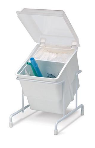 Storage Organizer Tub w/ Clear Lid