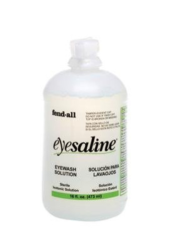 Fend-All 16oz Bottle Eyesaline Sterile EyeWash Sol