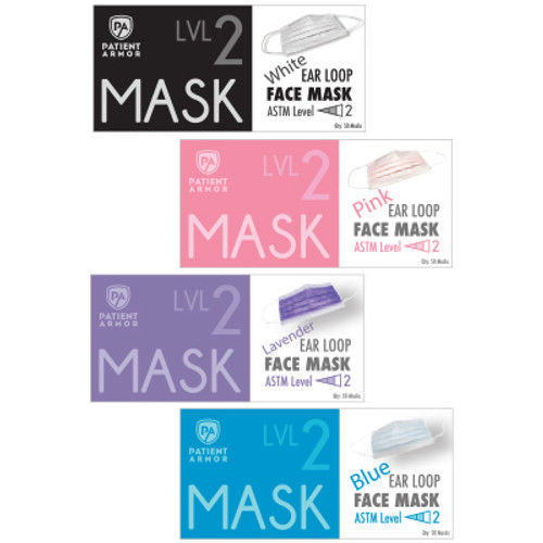 Earloop Mask L2 Blue