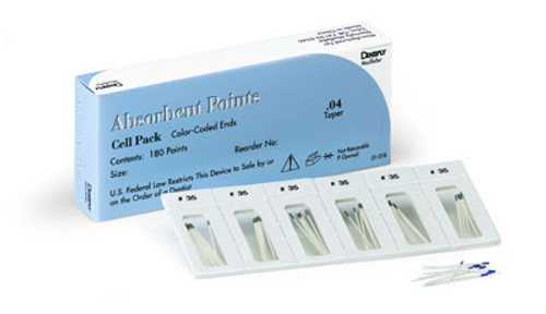 Maillefer Tapered Absorbent Points
