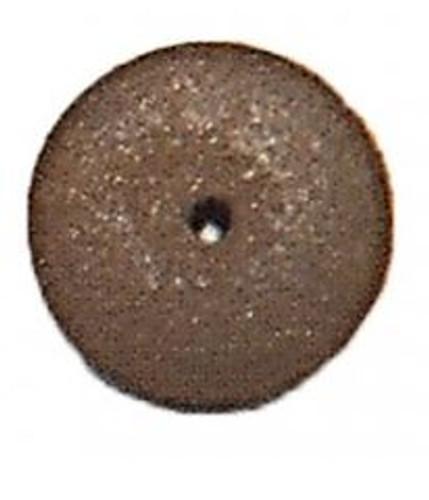 1900840, Knife Edge Rubber Wheel Red 5/8