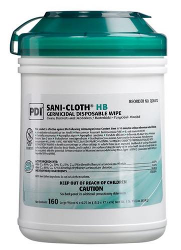 Sani-Cloth HB Wipes