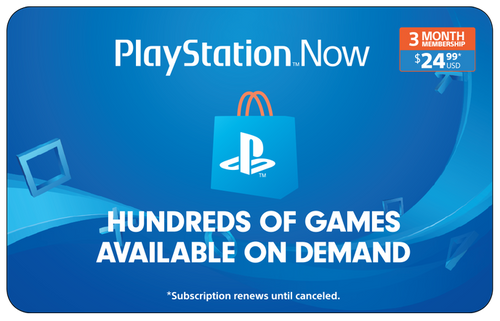 PlayStation Now 3 Month Membership