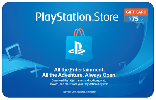 PlayStation Network $75 Credit
