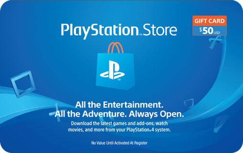 PlayStation Network $50 Credit