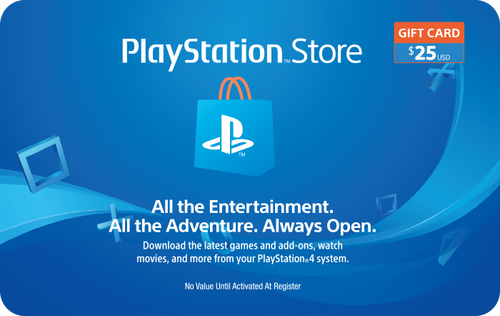PlayStation Network $25 Credit
