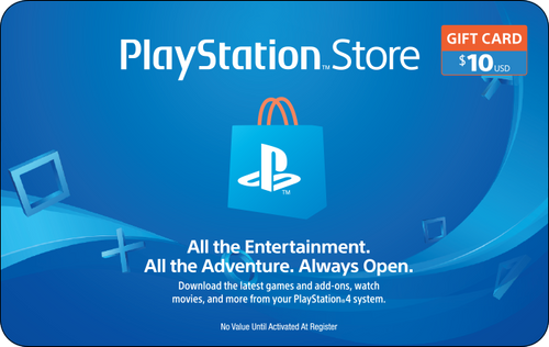 PlayStation Network $10 Credit