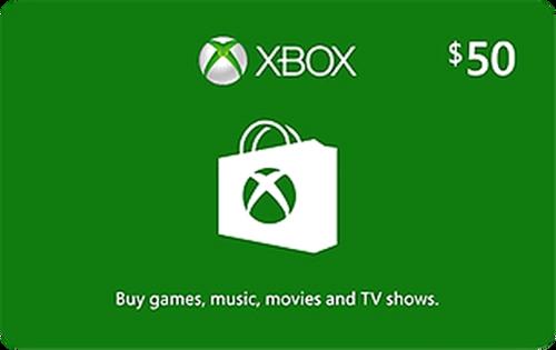 Xbox Live $50 Credit