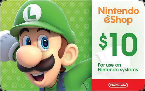 Nintendo eShop Card $10
