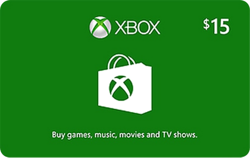 Xbox Live $15 Credit