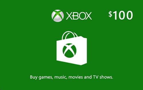 Xbox Live $100 Credit