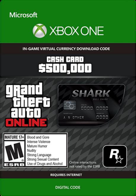 Grand Theft Auto V - Bull Shark Cash Card
