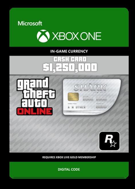 Grand Theft Auto V - Great White Shark Card