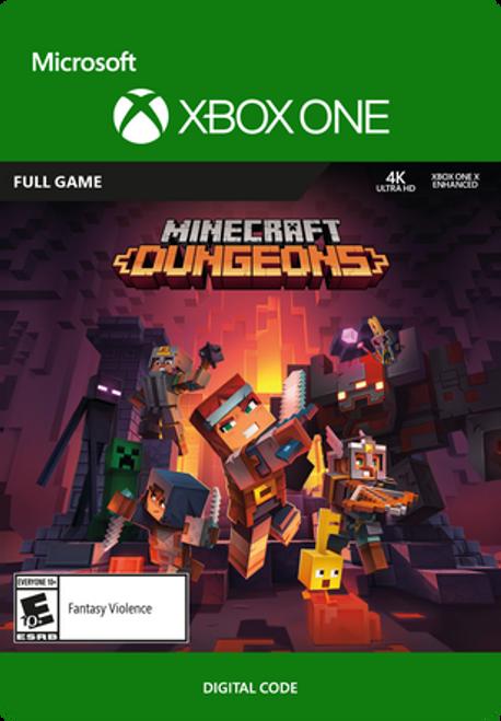 Xbox Minecraft Dugeons