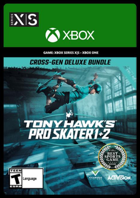Xbox Tony Hawk's™ Pro Skater™ 1 + 2 Cross-Gen Deluxe Bundle