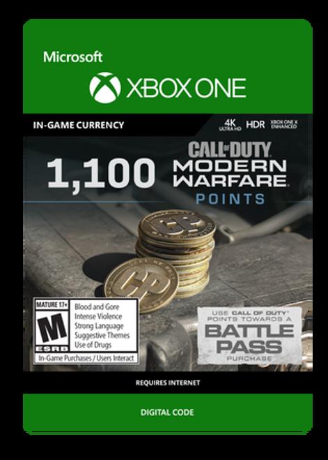Xbox COD Modern Warfare 1100VC
