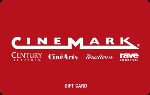 Cinemark Digital Gift Code