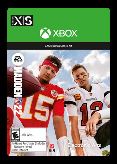 Madden NFL 22: Standard Edition Xbox Series X|S