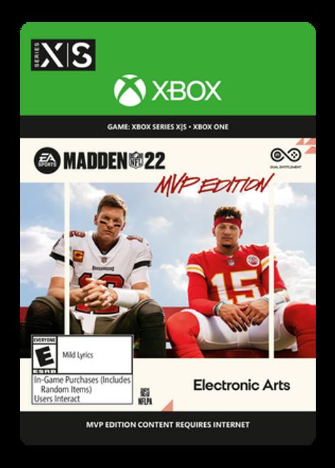 Xbox Madden NFL 22: MVP Edition