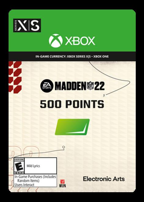 Madden NFL 22 - 500 Madden Points