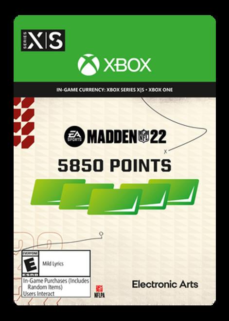 Madden NFL 22 - 5850 Madden Points