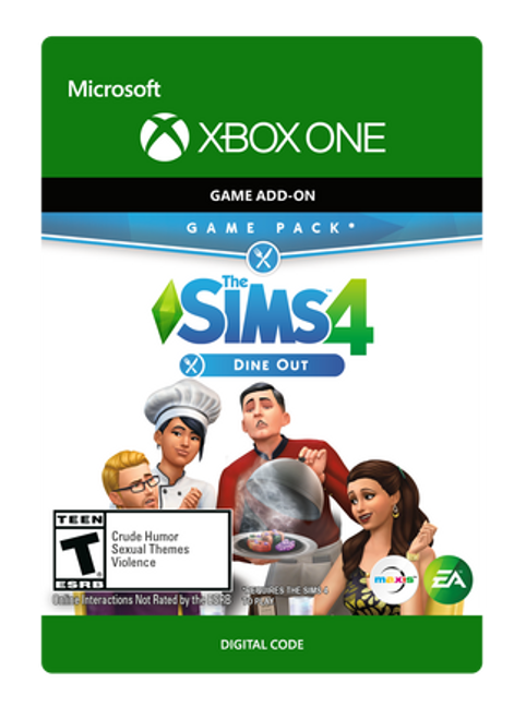 The Sims 4 - Dine Out