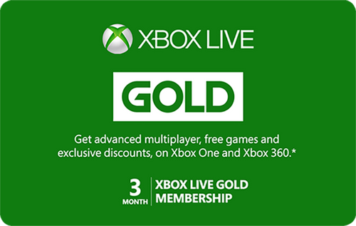 Xbox Live - 3 Month Subscription - Digital Code