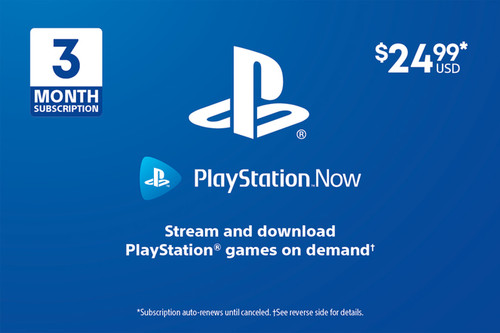 PlayStation Now - 3 Month Subscription - Digital Code