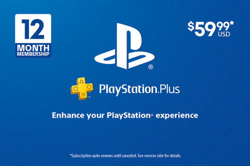 PlayStation Plus - 12 Month Subscription - Digital Code