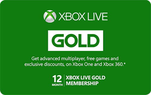 Xbox Live - 12 Month Subscription - Digital Code